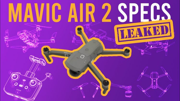 New Mavic Air 2 Leaked specs (and photos) Wow, that battery life!