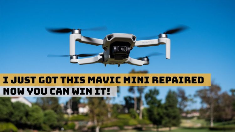 My Recent DJI Repair Experience + Win The Drone I Got Fixed!