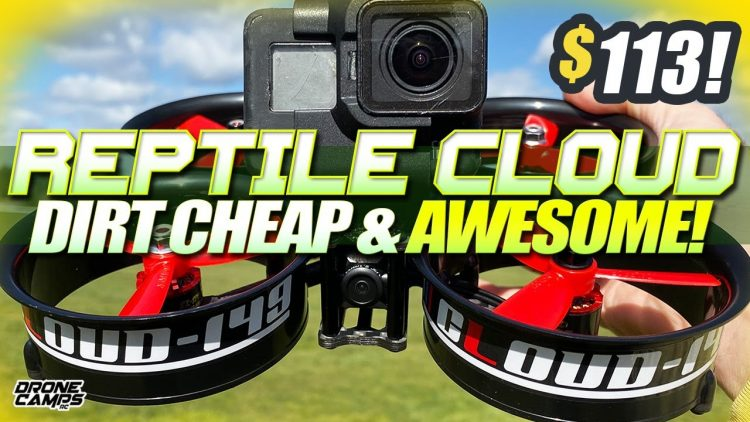 DIRT CHEAP & AWESOME! – $113 REPTILE CLOUD 149mm 3″ Cinewhoop – REVIEW & FLIGHTS