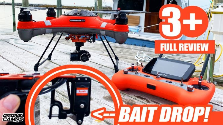BEST FISHING DRONE for 2020 – Salt Water Proof!!! ??