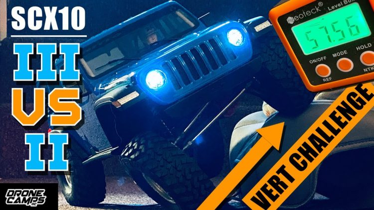 AXIAL SCX10 III VS SCXII – VERT CLIMB CHALLENGE – GUESS WHO WINS! ?