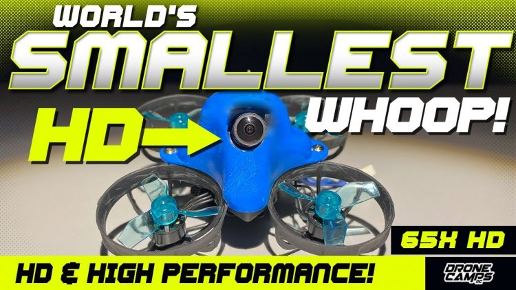 WORLD'S SMALLEST HD DRONE! – Betafpv 65X HD – Review & Flights