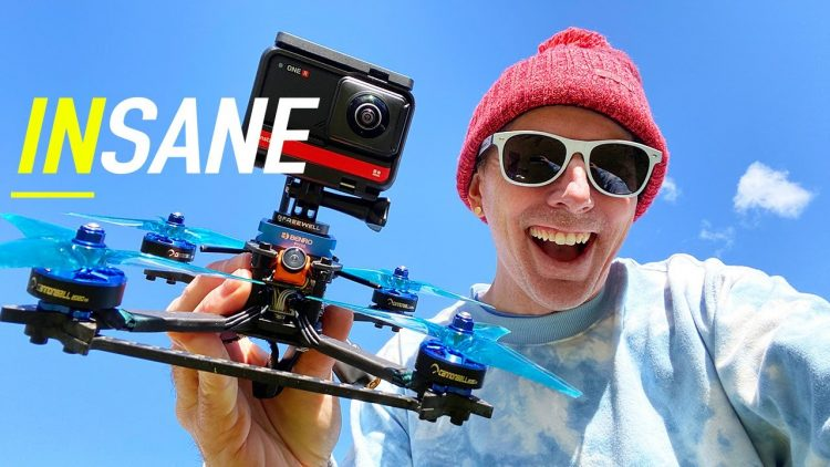 INSANE DRONE VIDEOS – Insta360 ONE R – IT CAN DO IT ALL!!! ?