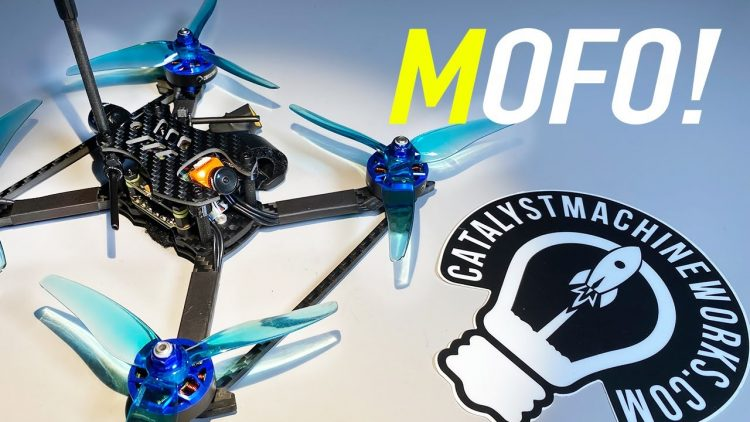 CRAZY MOFO! – Catalyst Machineworks MOFO Premium Race Quad – Review & Flights ?