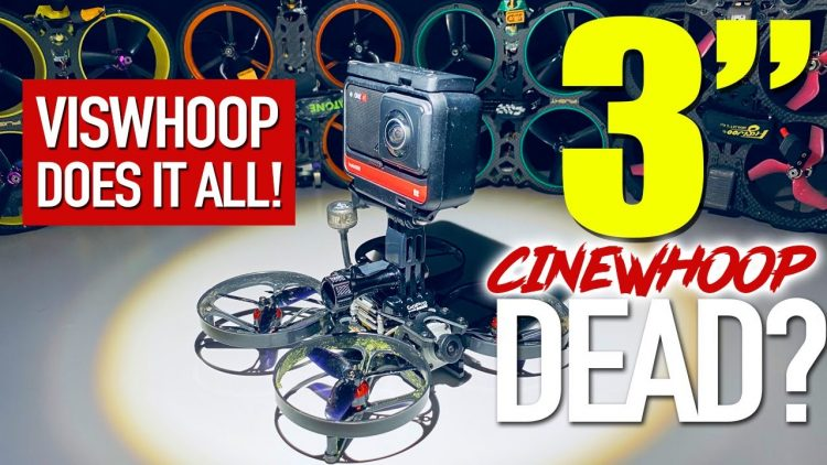 DID EACHINE JUST HACK THE 3″ CINEWHOOP? ? – Eachine VISWHOOP!