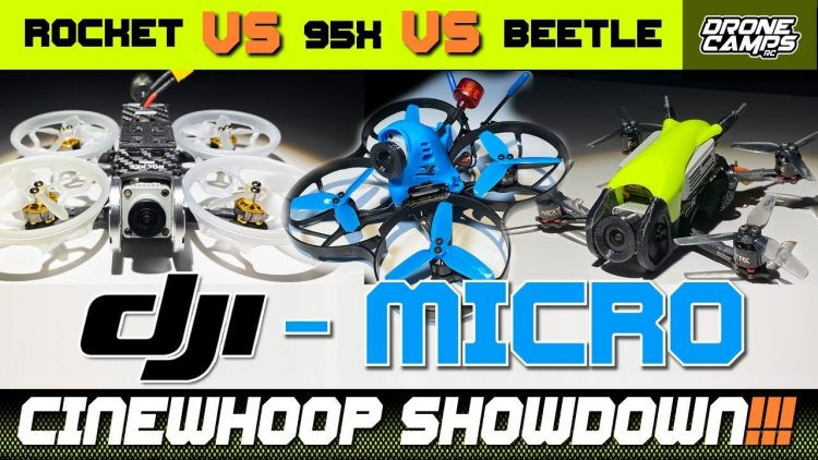 BEST DJI MICRO CINEWHOOP? – BetaFpv 95X, Transtec Beetle, VS Geprc Rocket Lite