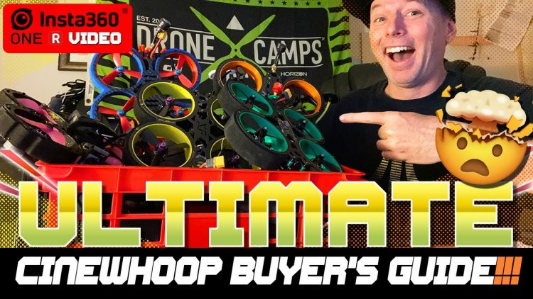 ULTIMATE CINEWHOOP BUYER'S GUIDE – FLIGHTS, NOISE, SPECS & 360 VIDEO!!! ?