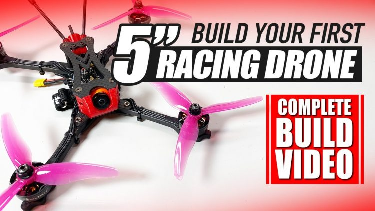 BEGINNER RACING DRONE – Stay at Home Build Video! – 'NEW 2020 EDITION ?