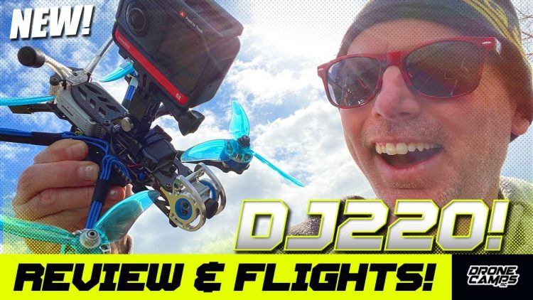 CINEMA OR FREESTYLE! – LDARC Kingkong DJI DJ220 5″ Quad – REVIEW & FLIGHTS