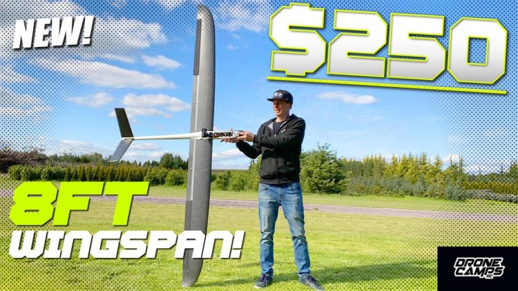 BIGGEST RC SAILPLANE for $250 with a Massive 8.5ft Wingspan! ??