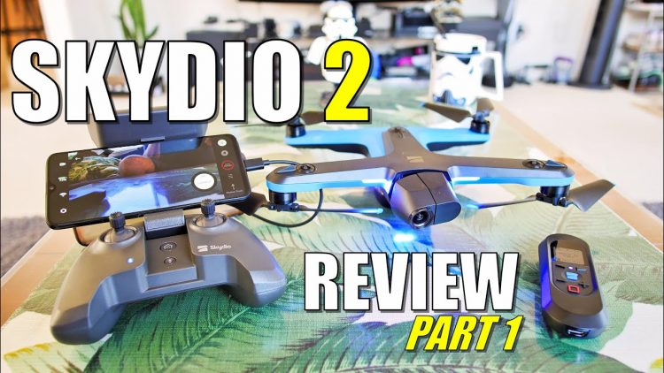 SKYDIO 2 Drone Review Part 1 – IN DEPTH [Unboxing, setup, updating, pros & cons]