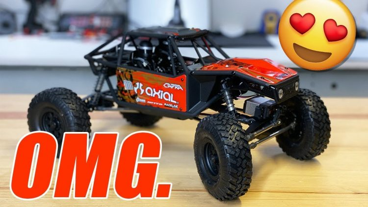 AXIAL CAPRA 1.9 Rock Crawler RTR – UNBOXING, Upgrades, & Complete Overview ?