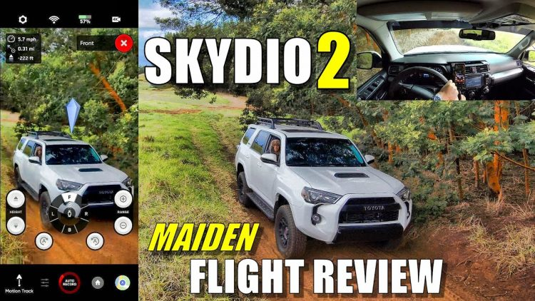 SKYDIO 2 Maiden Flight Test Review – On/Off Road & Tight Woods Fails