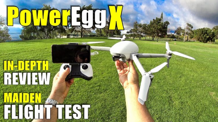 PowerVision PowerEgg X Maiden Flight Test Review – In Depth with Pros & Cons