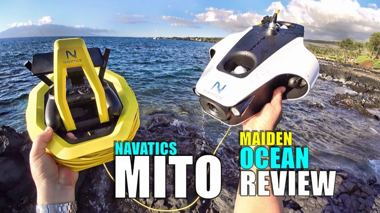 Navatics MITO Solar Underwater ROV Submarine Drone – Maiden Ocean Dive Review with Pros & Cons