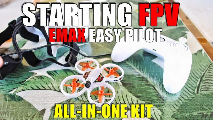 EMAX EASY PILOT Beginner FPV Drone KIT Review – EVERYTHING YOU NEED to START FLYING for under $100