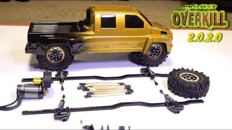 "PROJECT: ""OVERKILL"" 2020 UPDATE – PT 3 – Color, Tire Surprise, High KV Motor, Shocks 
