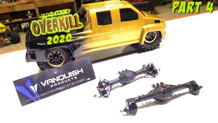 "PROJECT ""OVERKILL 2020"" (PT4) AXLE CHOICE – Vanquish F9 Currie ALL-METAL PORTALS 
