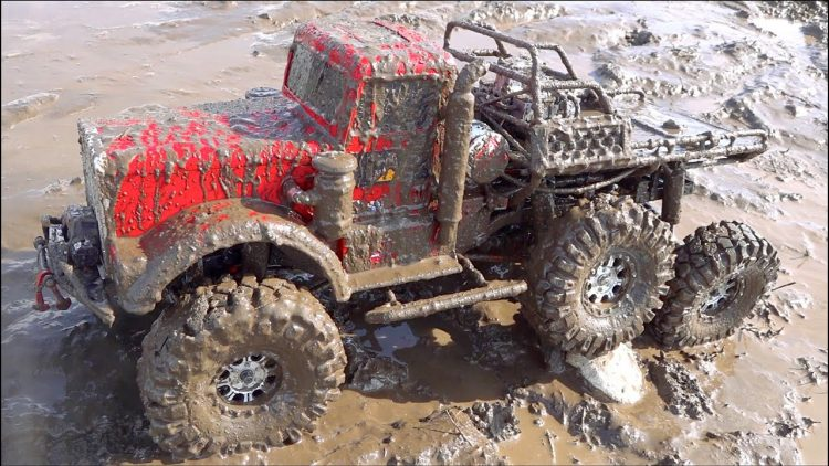 "CHOCOLATE MILK MUD for my 6X6 ""BiG RED"" OIL FiELD TRUCK – MUCKY FLUiDS of the EARTH 