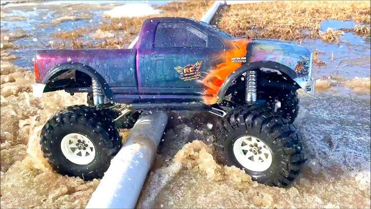 DODGE RAM 1500 4×4 in MUD SOUP – KEEP CALM, & HOBBY ON! SPRiNG CHOCOLATE MiLK MUD | RC ADVENTURES