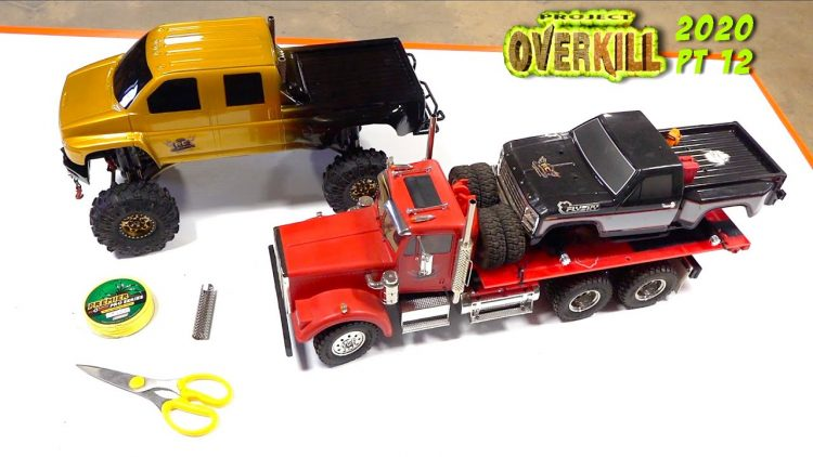 "PROJECT ""OVERKiLL"" 2020 – PT 12: DiESEL STACKS & DUAL 100lb YELLOW WiNCH LiNE 