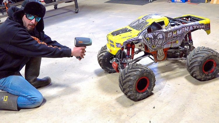 "HOW FAST IS my TMR 49cc GAS POWERED PRIMAL RC ""TOY"" RAMINATOR  MONSTER TRUCK? 