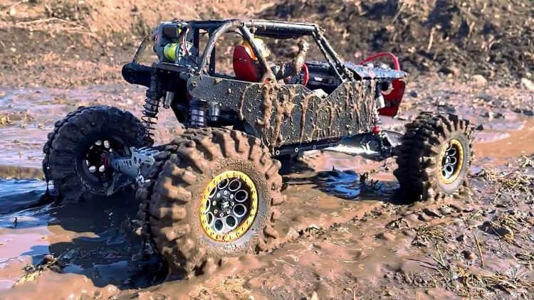 "MUD BATH w/ ""BLACK WiDOW"" & REWARDiNG SMOKE SHOW w/ the CUSTOM 4X4 WRAiTH BUGGY! 