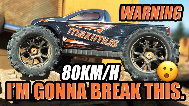 I'M GONNA BREAK THIS! – DHK MAXIMUS 1/8 Monster Truck – REVIEW