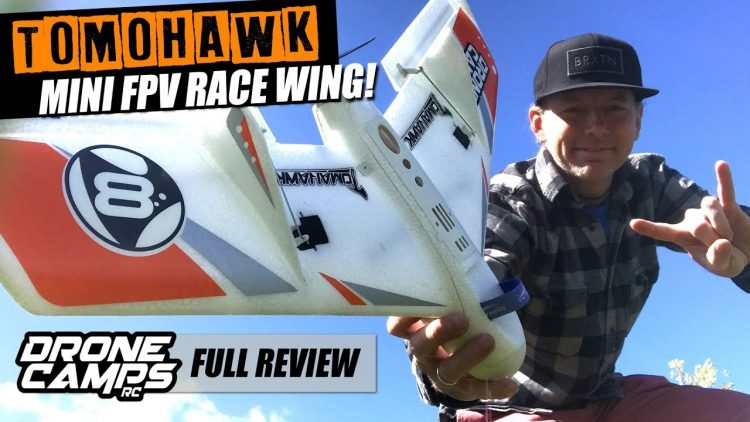 Durafly Tomohawk! – ULTRA DURABLE Mini FPV Race Wing – Flights, Crashes, & Complete Review