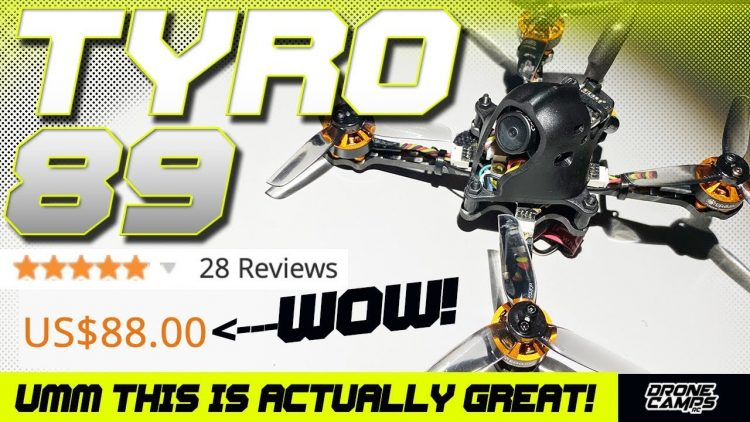 $88 and AWESOME! – Eachine TYRO89 – BUILD, BETAFLIGHT, & FLIGHT TESTS ?