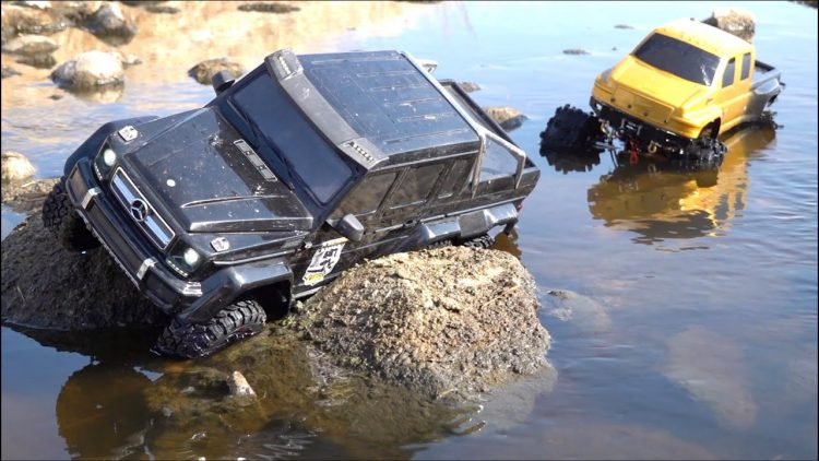 RC ADVENTURES – NEVER GO WHEELiN ALONE : WiNCH RESCUE TRAXXAS MERC G500 TRX6 6X6 & PROJECT OVERKiLL
