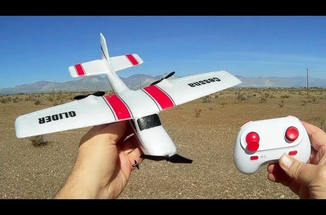 Z53 Cessna 2 Channel Gyro Stabilized RC Airplane Flight Test Review
