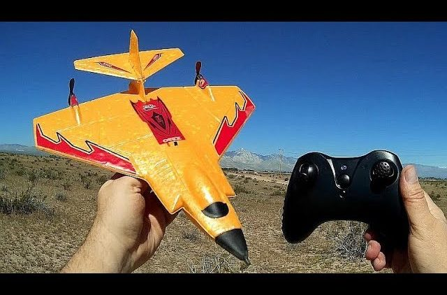 Mini X320 2 Channel Gyro Stabilized Park Plane Flight Test Review