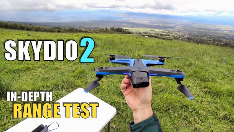 SKYDIO 2 Range Test In-Depth – How Far Will It Go?  Will It Return? (Beacon & Controller!)