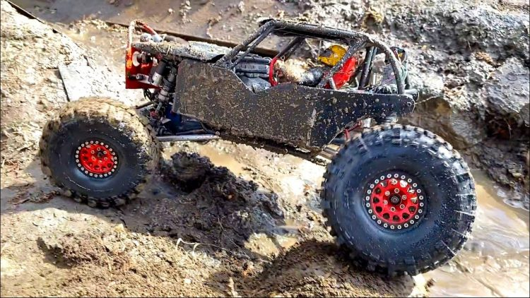 BLACK  WiDOW MUDS w/ NEW BOOTS – TSL BOGGERS – SUPER SWAMPER TiRES on RED BEAD LOCKS | RC ADVENTURES