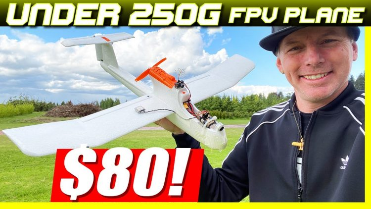 $80 MINI FPV PLANE!!! – Pathfinder Explorer under 250 Grams!