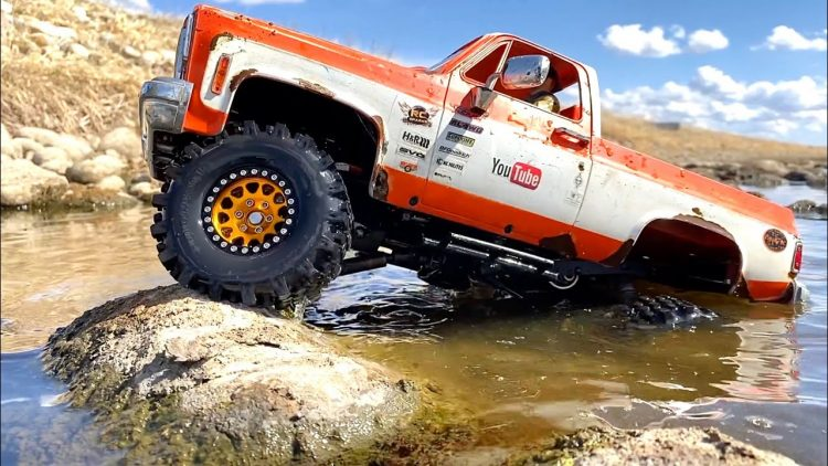 YOUR FAVOURiTE CLASSiC SQUARE CHEVY 4×4 HARD TOP K5 BLAZER WHEELiN' – B4 THE FLOOD | RC ADVENTURES