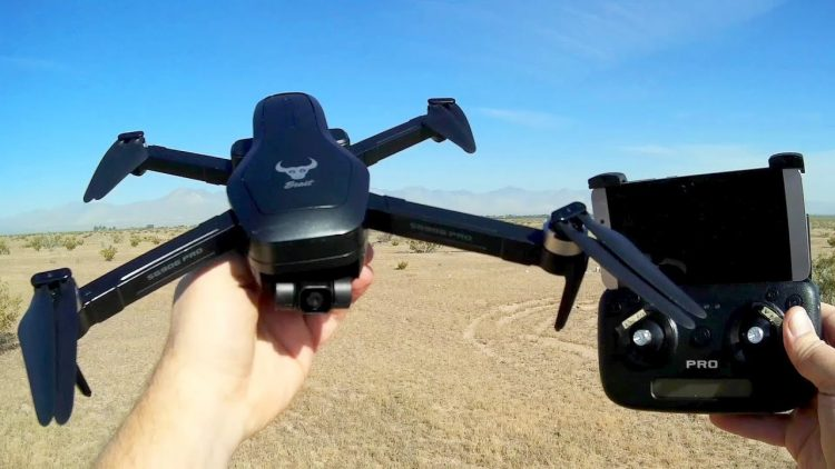 ZLRC SG906 GPS Pro 2 Axis Gimbal FPV Camera Drone Flight Test Review