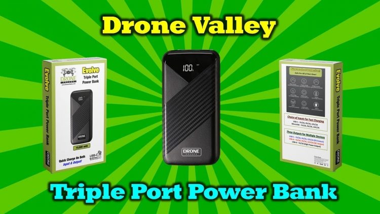 One Power Bank To Charge All Your Portable Devices! – Drone Valley Gear