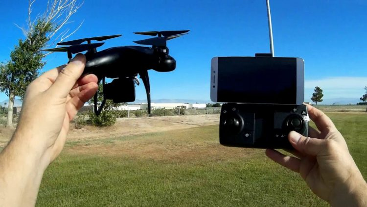 SMRC S30 GPS Camera Drone Flight Test Review