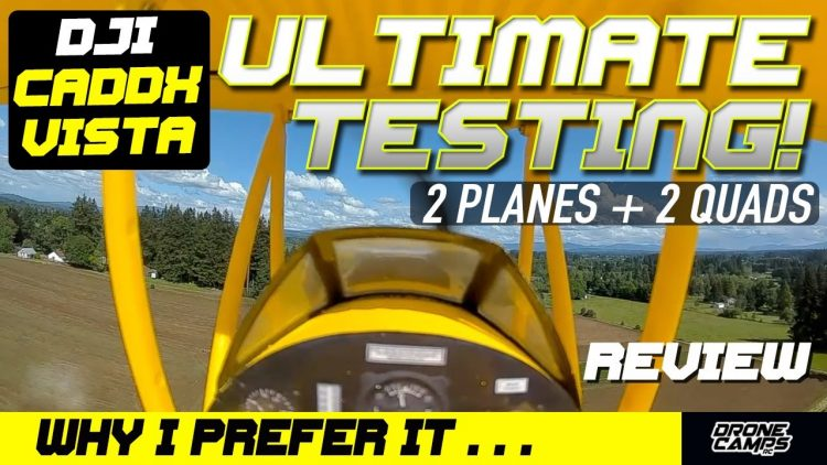 WHY I PREFER… DJI CADDX VISTA over the DJI AIR MODULE – ULTIMATE TESTING
