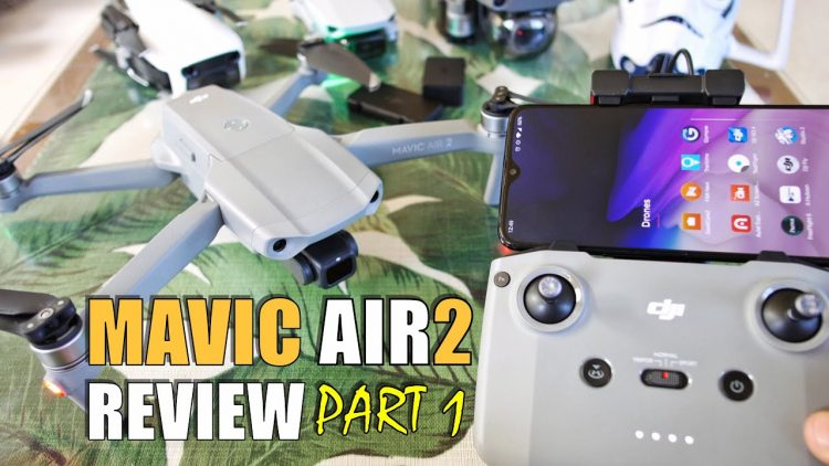 MAVIC AIR 2 Review – Part 1 In Depth – FLY MORE COMBO Unboxing, Setup, Updating! Pros & Cons