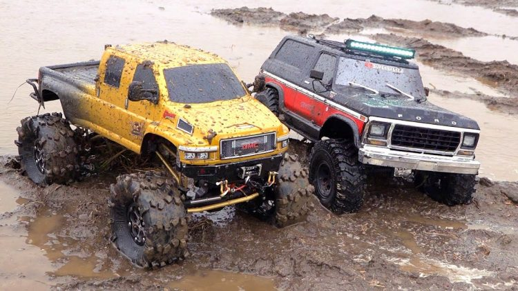 "MUD TRUCKiNG iN ""CHOLOLATE MiLK"" – GMC TOPKiCK ""OVERKiLL 2020"" vs FORD ""1979 BRONCO"" 