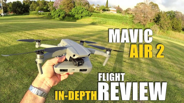 DJI Mavic AIR 2 Flight Test Review IN-DEPTH – How good is it…REALLY!? (BONUS CRASH TEST!)