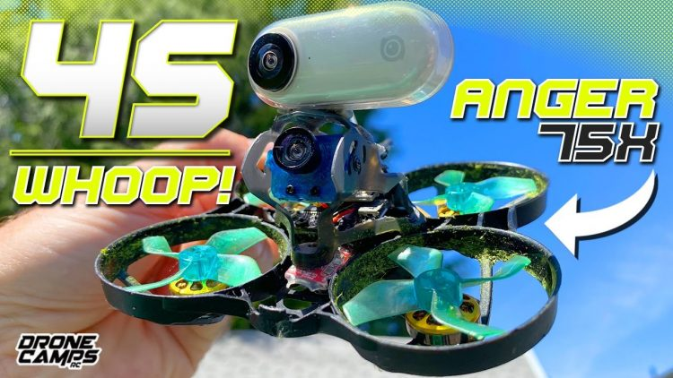 4S WHOOP LIKE A SUPERBIKE! – Geelang Anger 75x V2 – Review & Flights