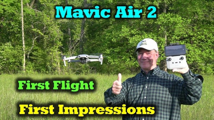 Mavic Air 2 – First Flight and Impressions – Incredible!
