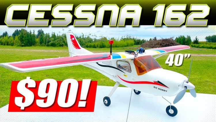 40″ RC AIRPLANE for $90! – Cessna 162 – Any Good? ?