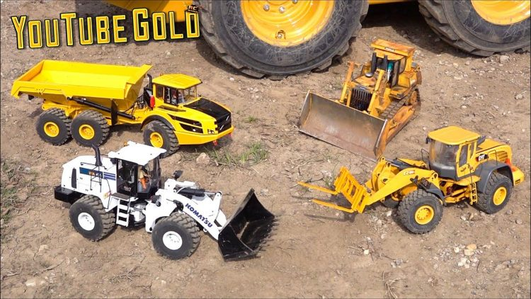 YouTube GOLD 2020 – Eps 1: SOLO GOLD MiNiNG SHOW – BUiLDiNG A MUD BARRiER ROAD | RC ADVENTURES
