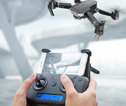 SG901 1080P 2.4G WiFi Foldable RC Quadcopter with Adjustable Wide-angle Camera Optical Flow Positioning RTF