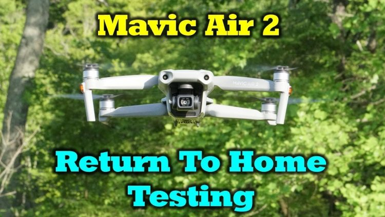 Mavic Air 2 – Return To Home Testing